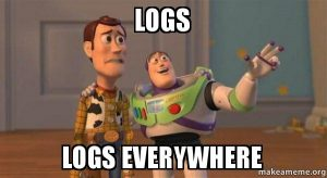 logs-logs-everywhere